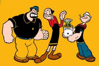 Un tiempo después Nintendo consiguió la licencia de Popeye y pudo sacar arcades y G&W con los personajes