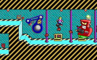 Se publicaron 5 juegos de la saga Commander Keen entre el 90 y el 91, con mejoras evidentes en los gráficos