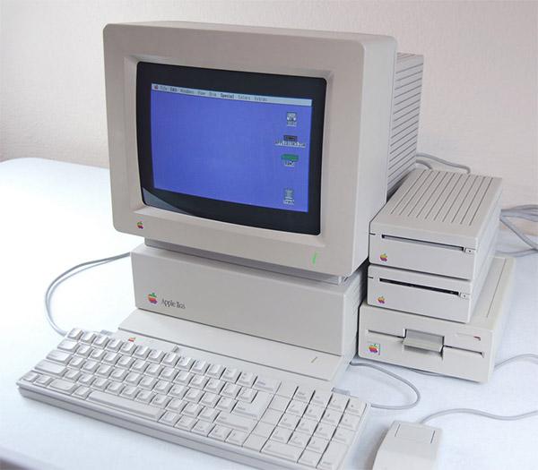 El Apple II GS (Graphics and Sound) era una versión muy mejorada del clásico Apple II