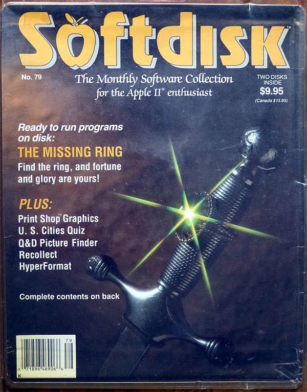 Revistas como Softdisk llenaban el ansia por nuevo software de los poseedores de un ordenador