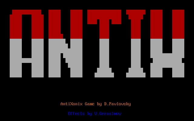 Antix es el único otro juego de la colección que se conserva