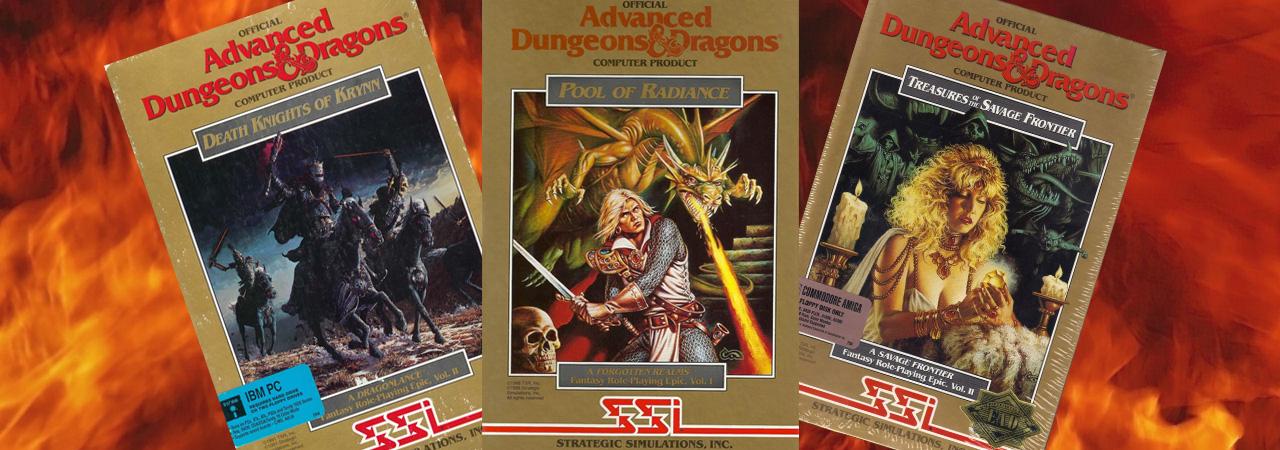 Dungeons & Dragons (II): Gold Box, una leyenda en caja dorada