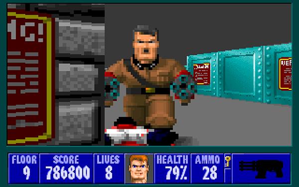 Wolfenstein podía jugarse con soltura en ordenadores más lentos que el propio Ultima Underworld