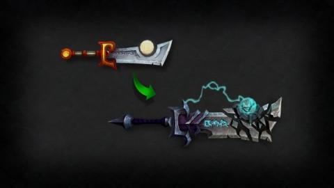 Los artefactos podrán ser transformados en función de nuestro estilo de juego. Fuente: Battle.net