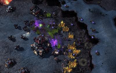 Imagen de gameplay de Starcraft II: Legacy of the Void. Fuente: Softpedia