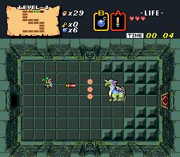 Algunas versiones emuladas permiten cambiar los personajes de BS-X por el propio Link