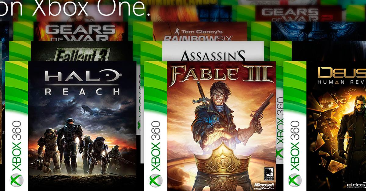 Mas Juegos Retrocompatibles Para Xbox One Gamika