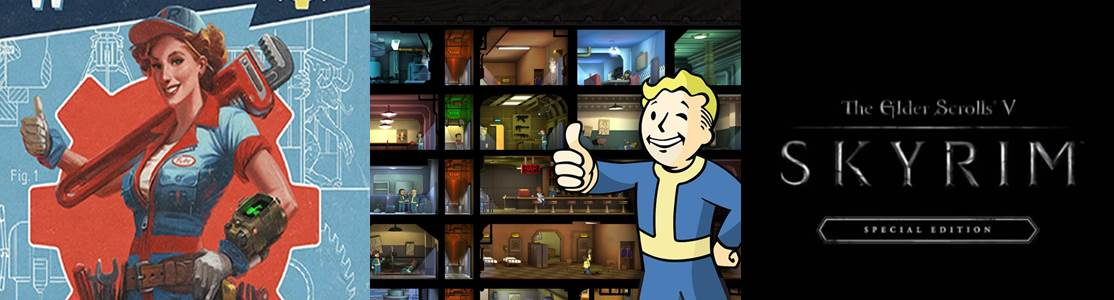 Fallout 4 / Fallout Shelter / Skyrim Special Edition
