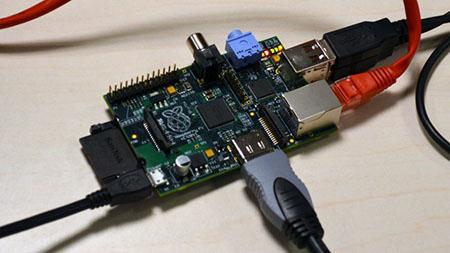 Raspberry Pi al desnudo