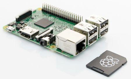 La minúscula Raspberry Pi 3 es un ordenador completo que no sobrepasa los 9 centímetros de largo por 6 de ancho