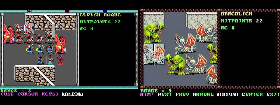 Podemos comprobar la mejora gráfica entre los primeros juegos de la saga y los últimos para equipos de 16 bits
