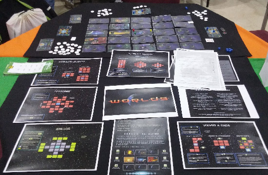 .W.O.R.L.D.S. era uno de los múltiples prototipos que se podían probar durante las jornadas