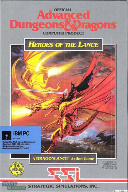TSR, la compañía dueña de D&D, seguía sincronizando la publicación de los videojuegos con las campañas del juego de rol de mesa