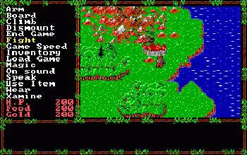 El Questron original fue publicado por SSI en 1984, licenciando a Richard Garriot el estilo de juego de su saga Ultima