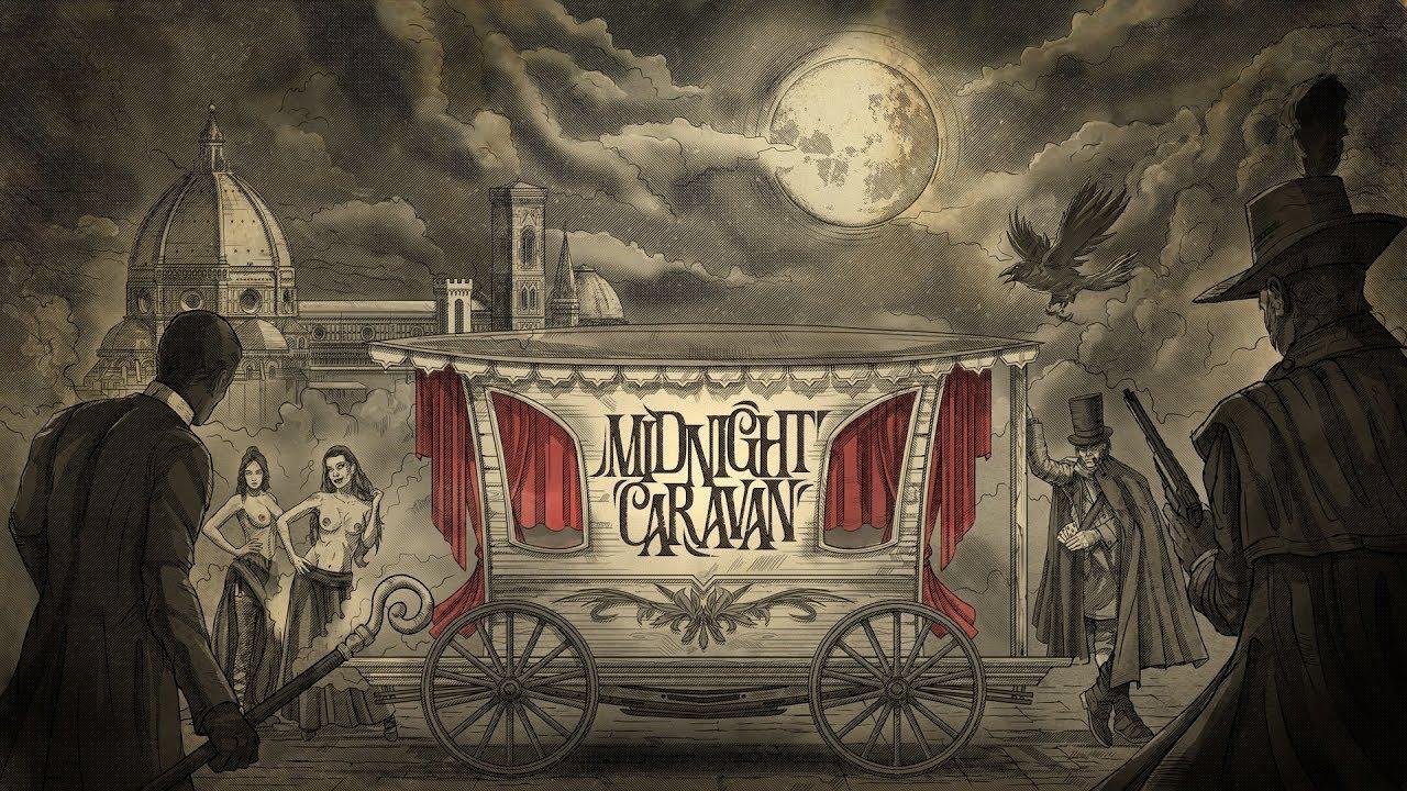 Midnight Caravan nos aterroriza con su estilo