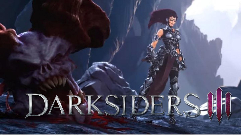 Darksiders 3 nos enseña toda la rabia de Furia
