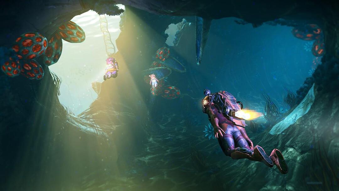 The Abyss es el mundo acuático de No Man´s Sky