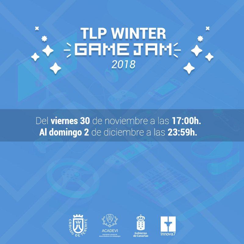 Comienza la Game Jam de TLP Winter y ACADEVI