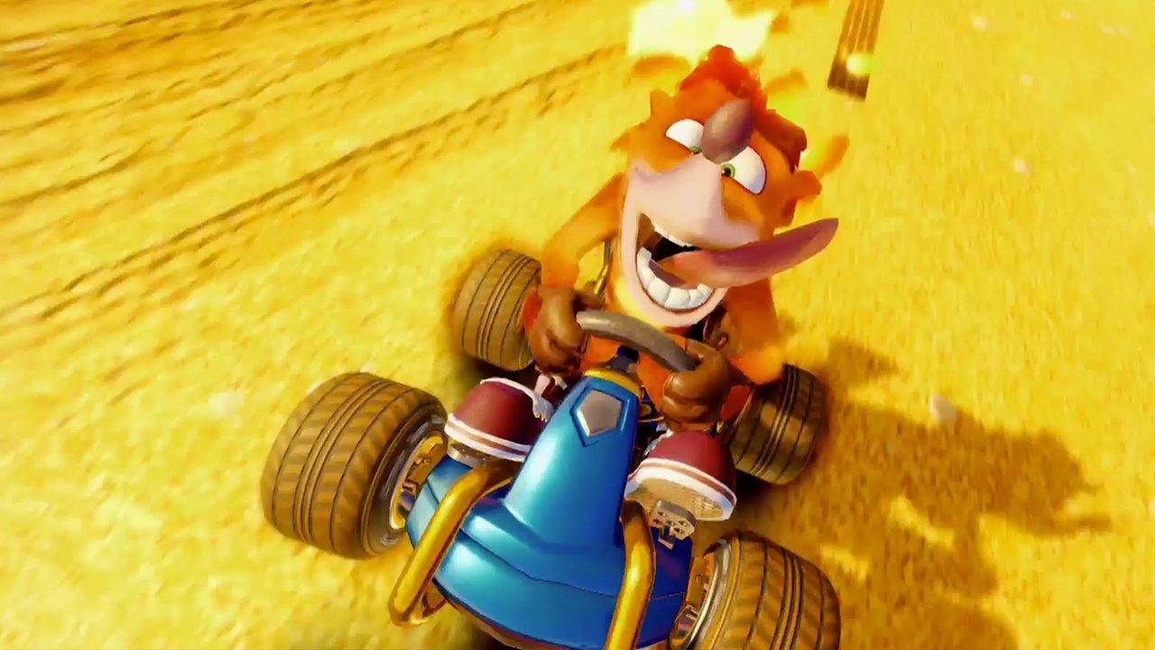 Anunciado el remake de Crash Team Racing
