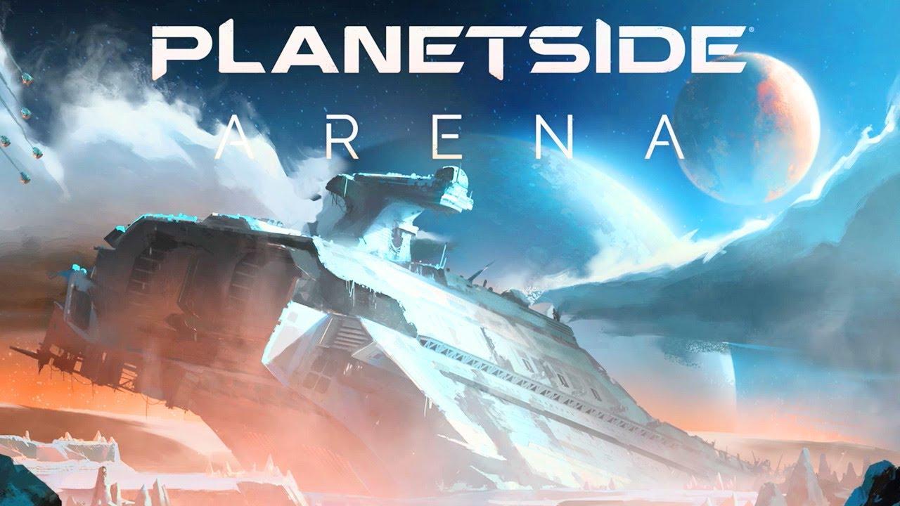 PlanetSide Arena es un Multijugador para 500 personas