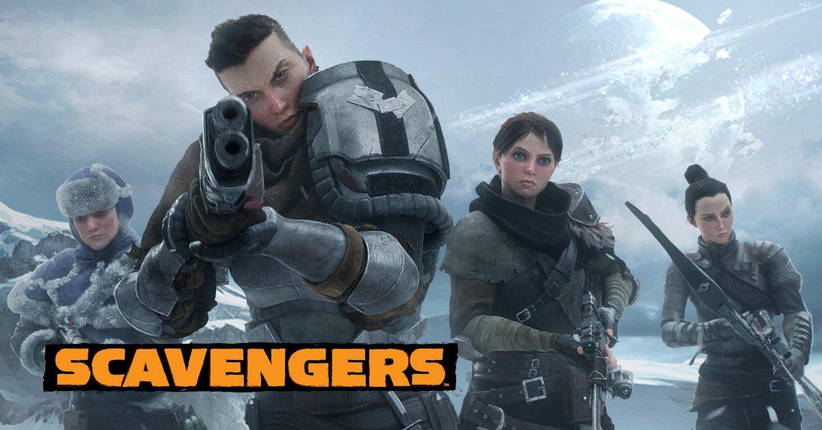Scavengers lo nuevo del director creativo de Halo