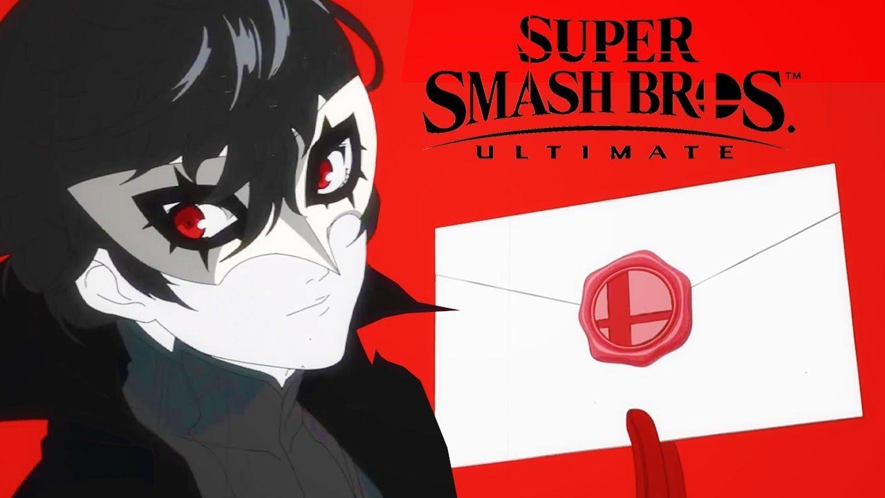 joker de Persona 5 llegara al Smash Bros Utimate como DLC