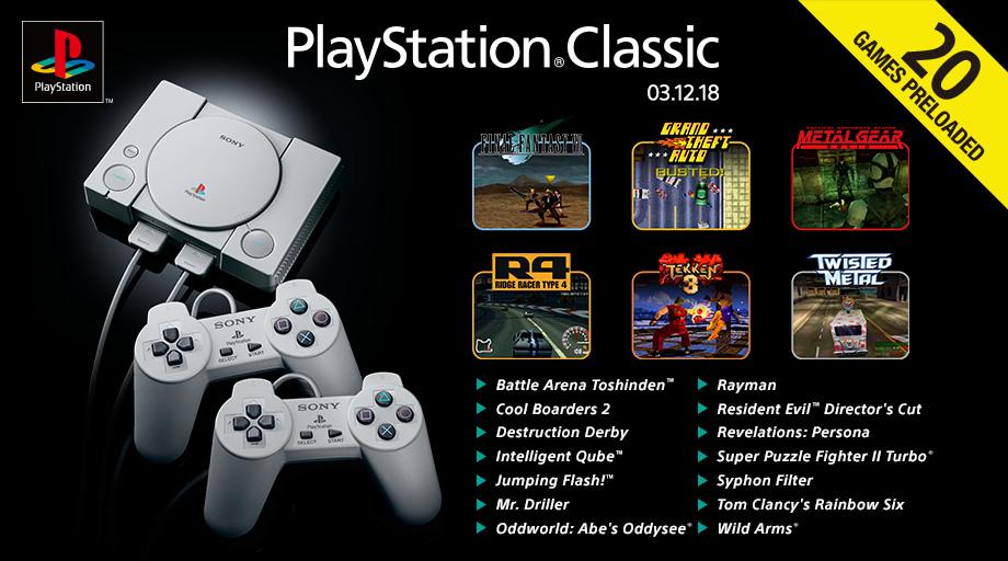 Cacharrean con la PlayStation classic y pasa esto