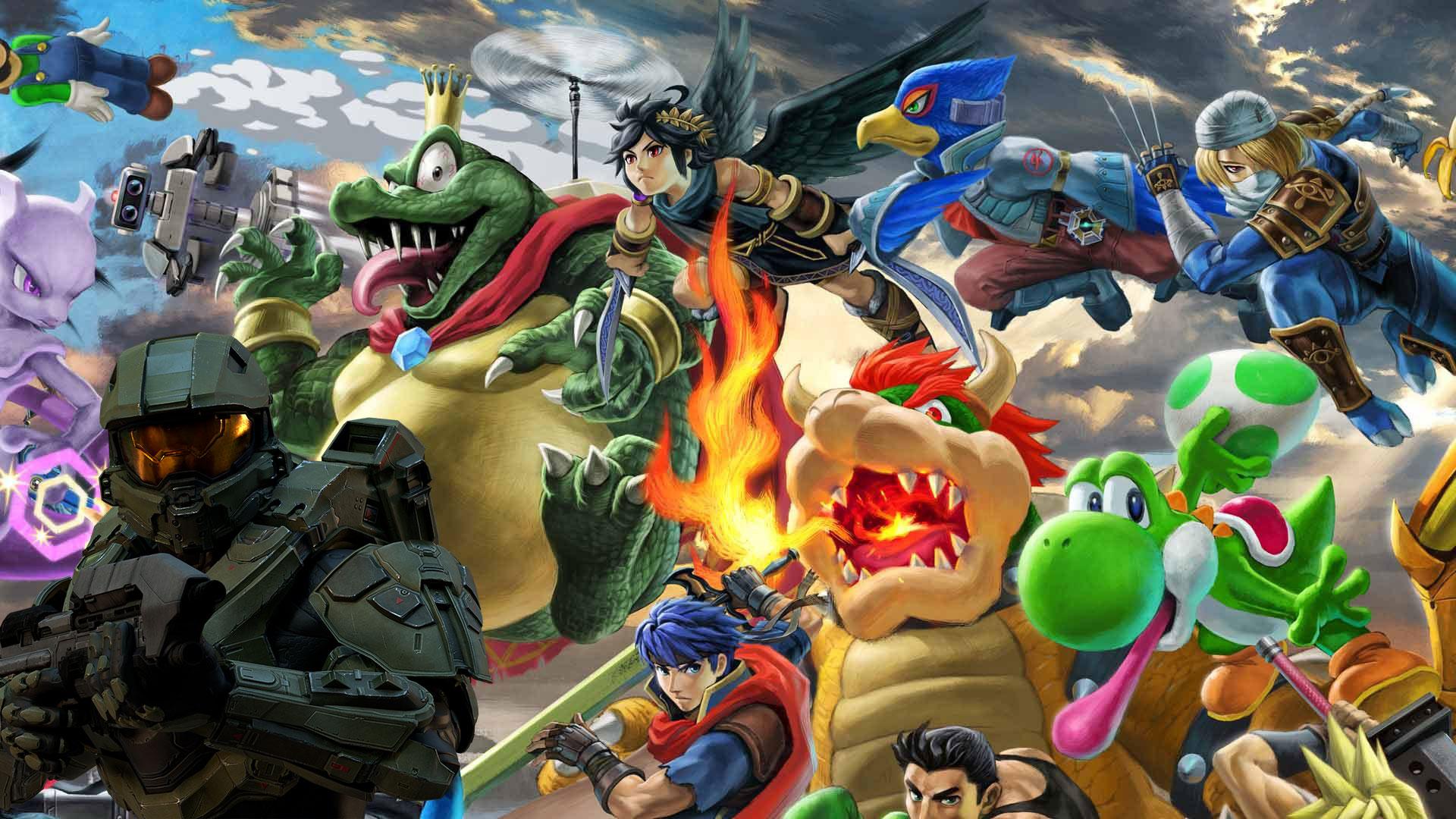 El Jefe Maestro sera el nuevo luchador en Super Smash Bros Ultimate