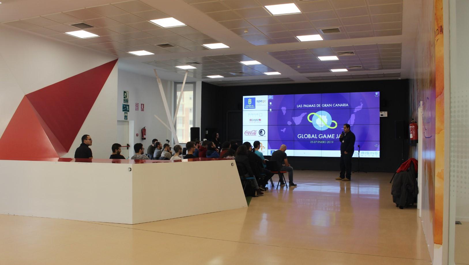 Los juegos de la Global Game Jam en Canarias