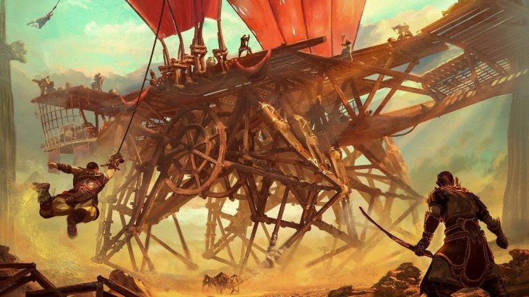 Last Oasis: un juego de supervivencia con enormes máquinas de madera