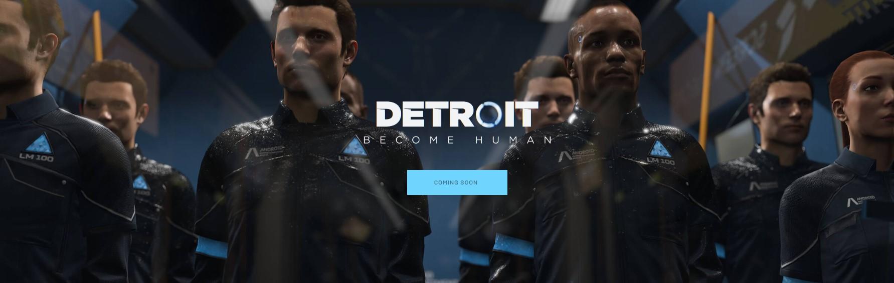 Detroit, Heavy Rain y Beyond llegan a PC