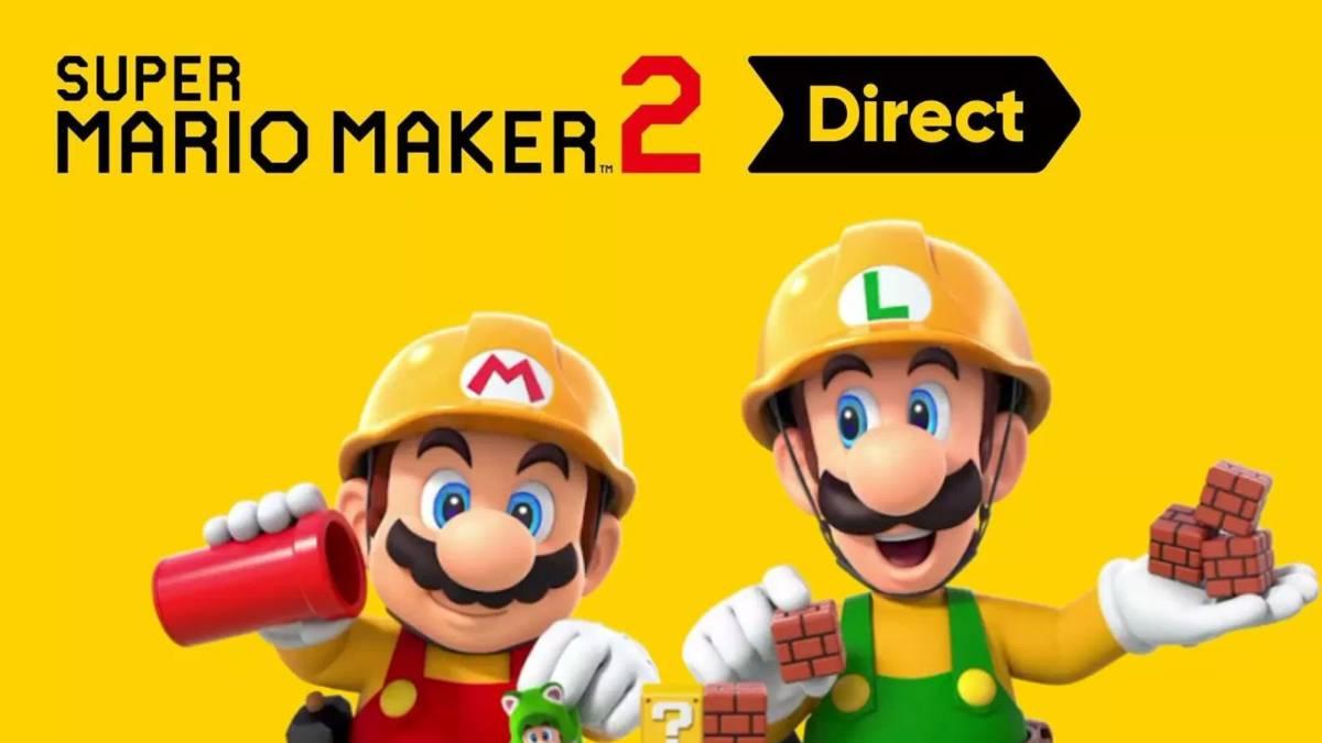 Super Mario Maker 2: esto es todo lo que se reveló en el Nintendo Direct