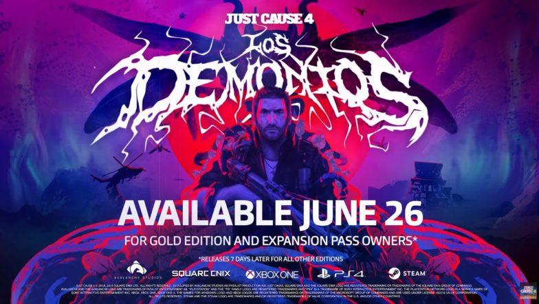 Los Demonios, Nuevo DLC de just cause 4