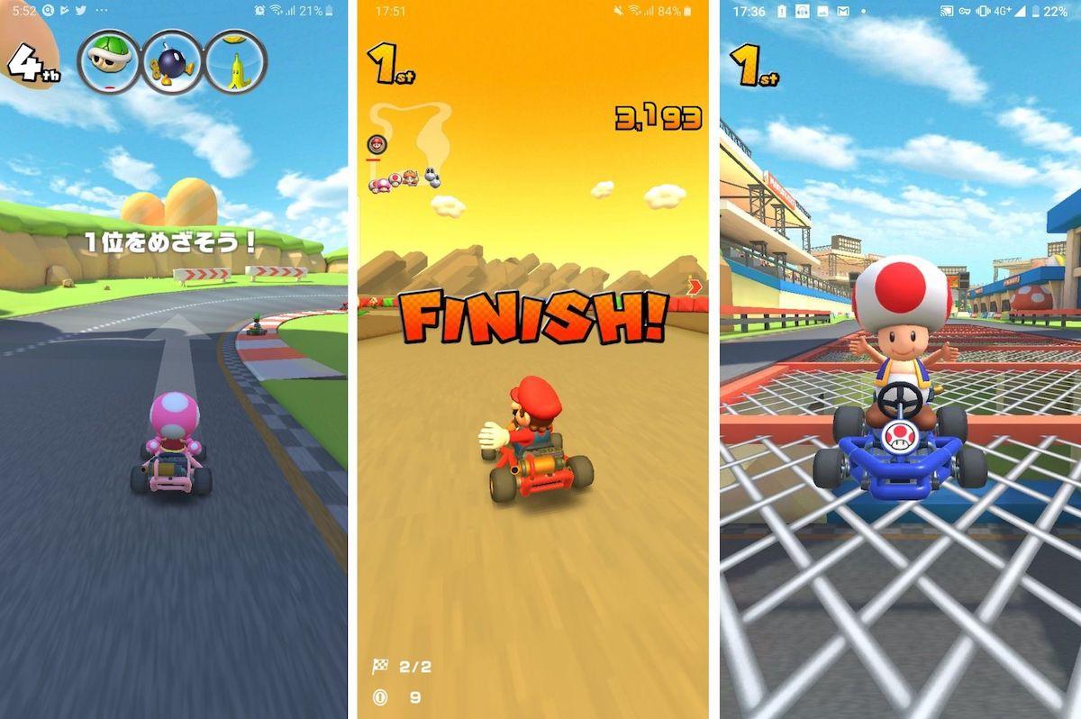 Mario Kart Tour y sus primeros detalles