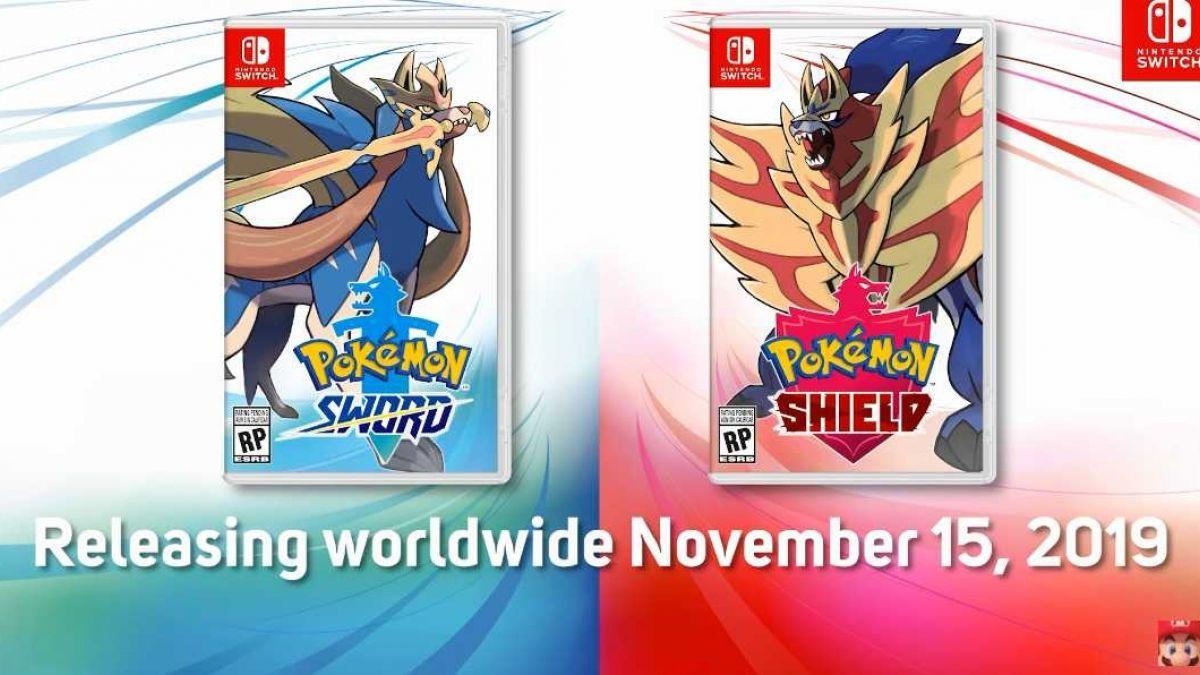 Todo la nueva información sobre Pokemon Espada y Escudo