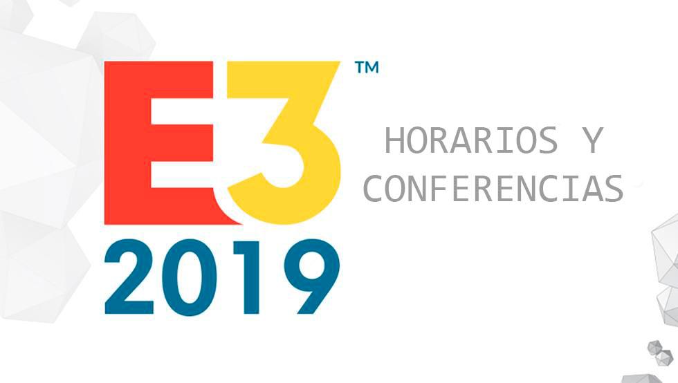 Todos los horarios de las conferencias de la E3 2019