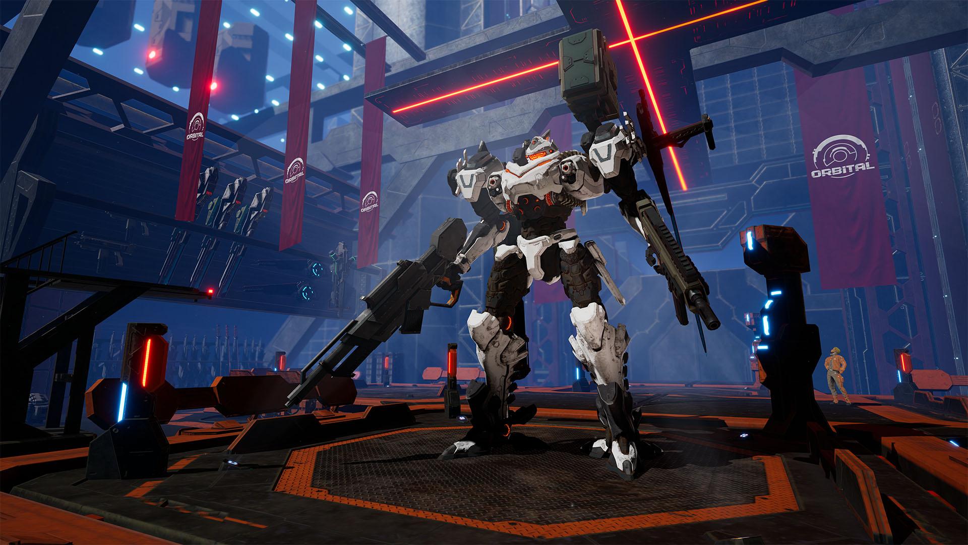 Te presentamos a los personajes principales de Daemon X Machina