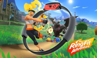 Nintendo presenta Ring Fit Adventure, el juego que usará el nuevo dispositivo
