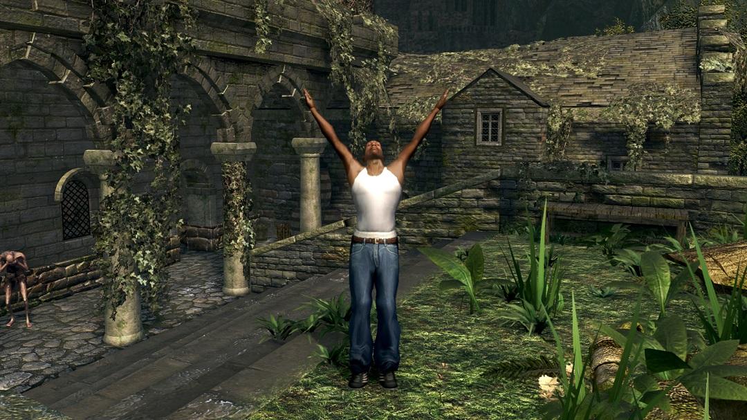 Logran crear e importar mapas a Dark Souls