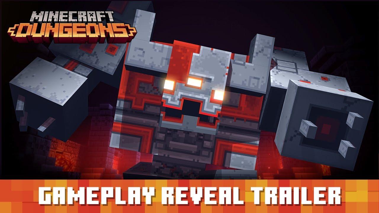 30 Minutos de gameplay de Minecraft Dungeons