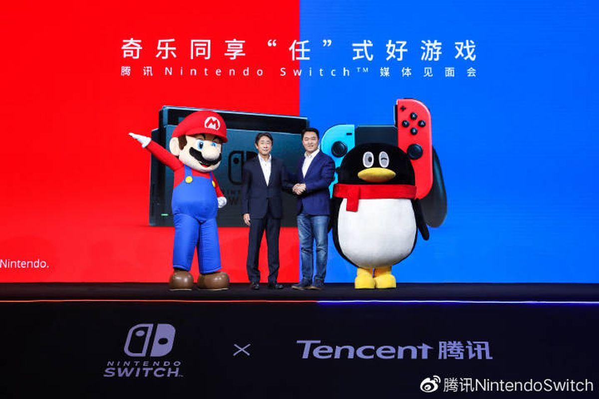 En Tencent desean trabajar junto a Nintendo