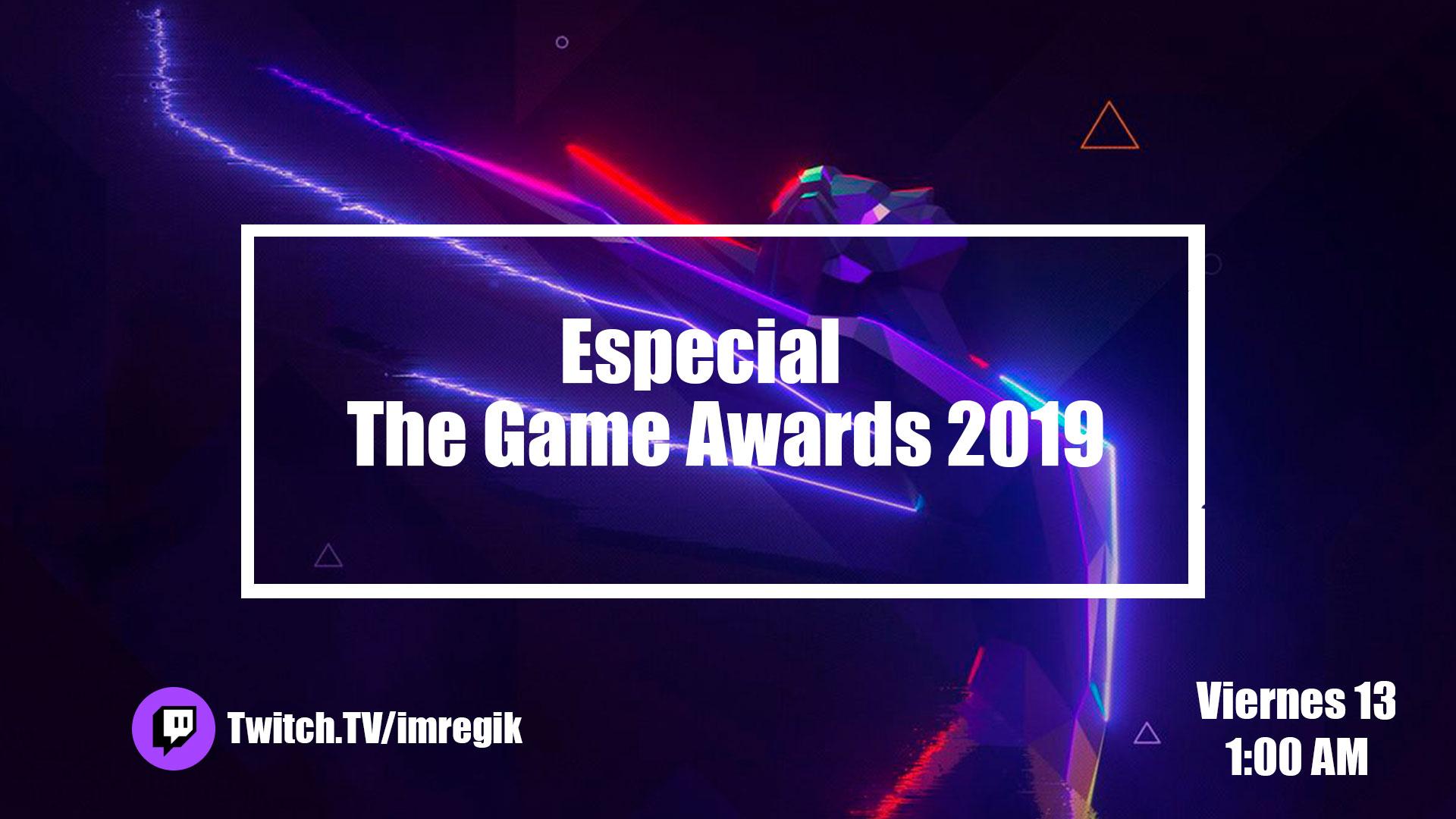 Sigue con nosotros la noche de los Game Awards