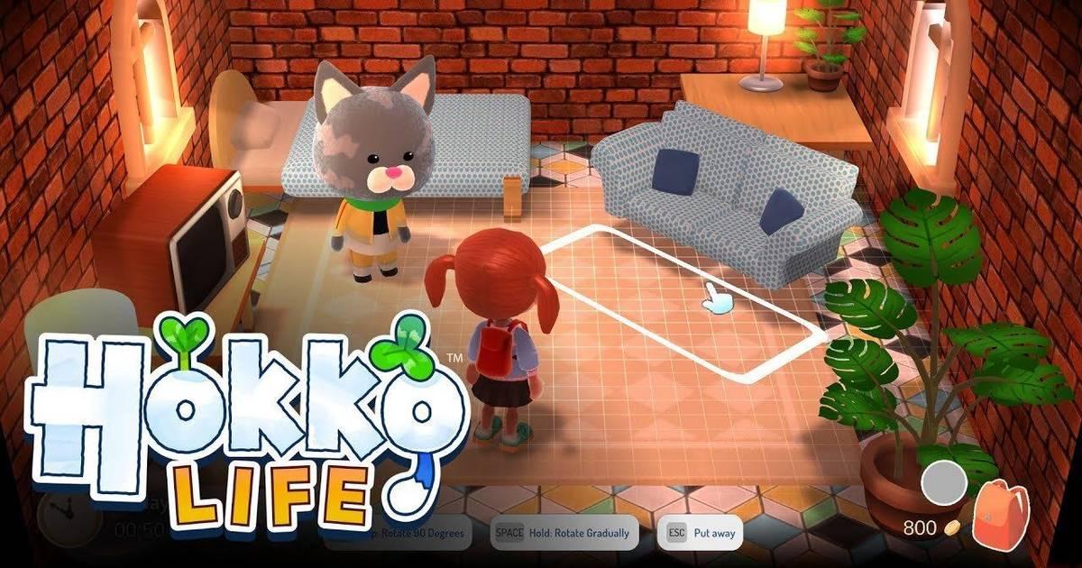 Primer tráiler de Hokko Life, el juego estilo Animal Crossing