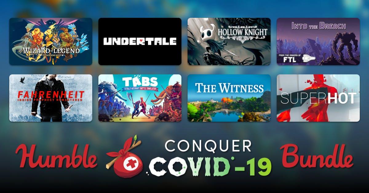 Humble Bundle Especial de 45 juegos por 28€ contra el Covid-19
