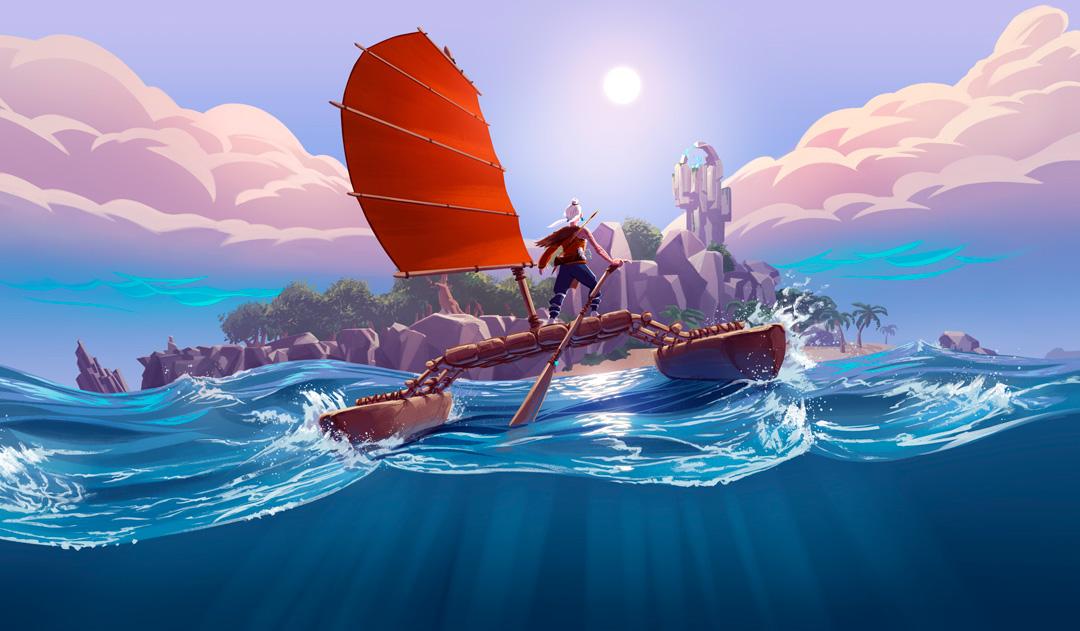 Windbound es un mundo abierto RPG con elementos de supervivencia isleña