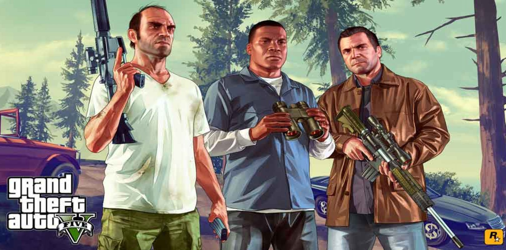 GTA 5 estará gratis en Epic Games Store a partir de hoy