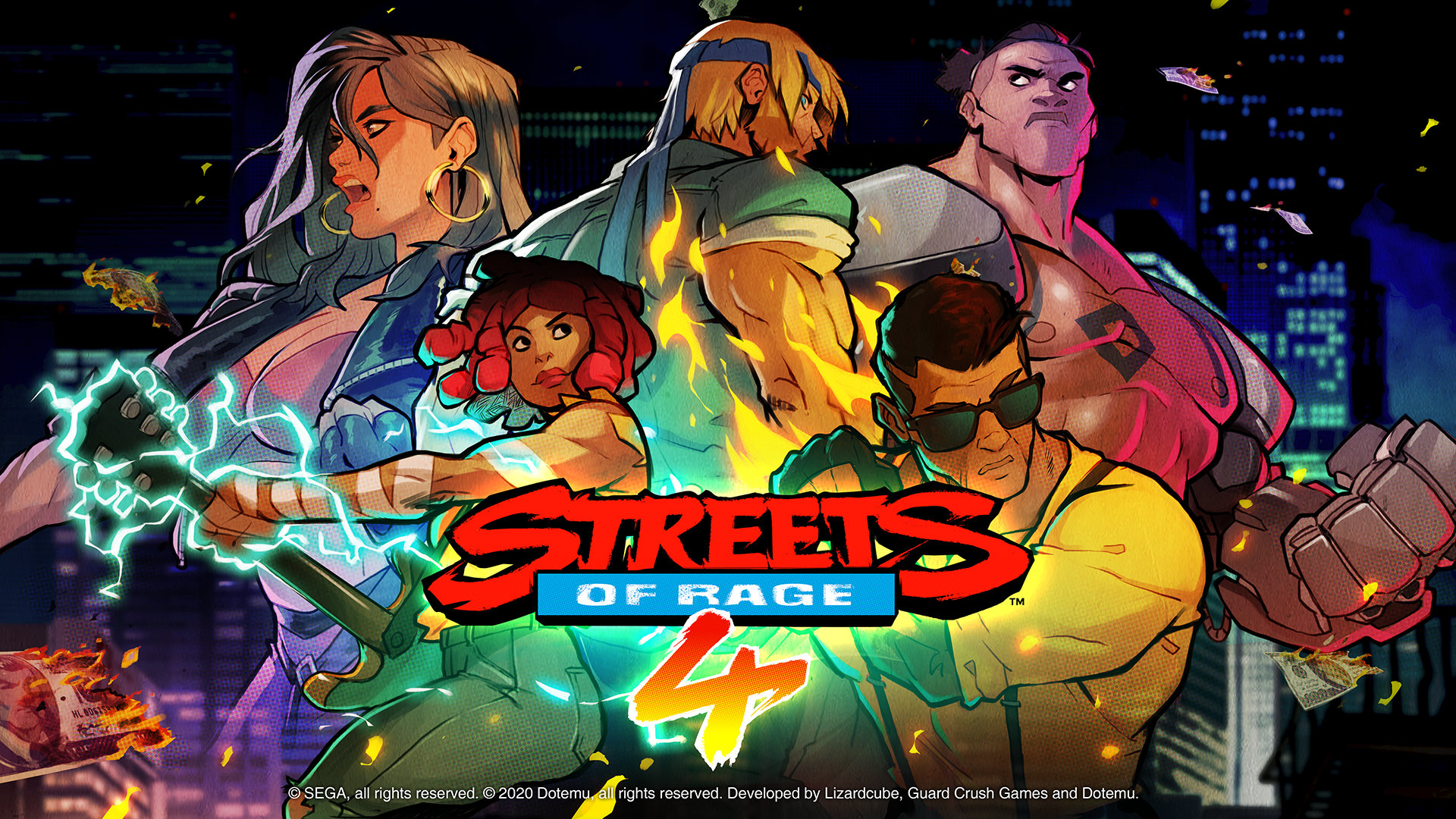 Analisis Streets Of Rage 4