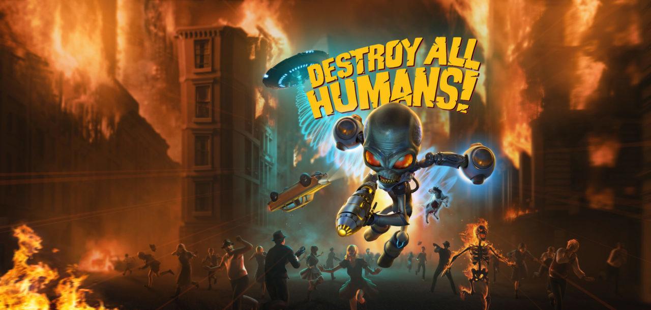 Destroy All Humans!  Nos enseña un nuevo tráiler