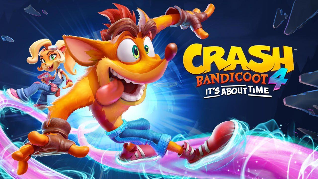 Crash Bandicoot 4: It's About Time se deja ver en su primer tráiler