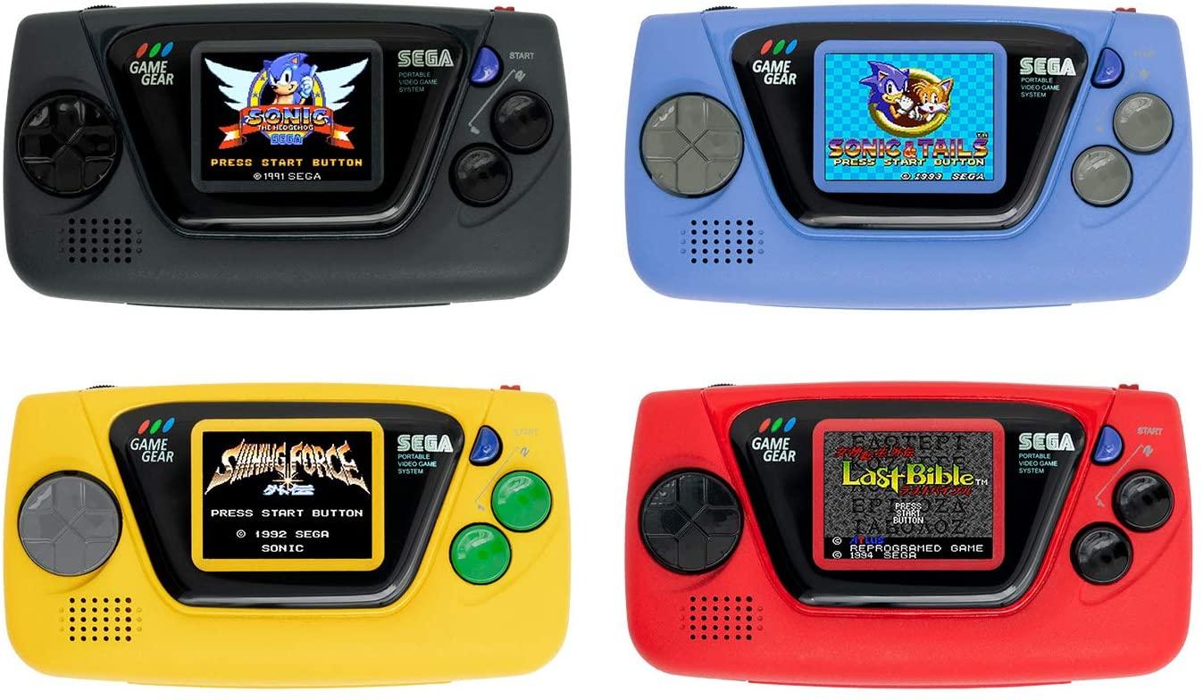 Sega Anuncia Game Gear Micro